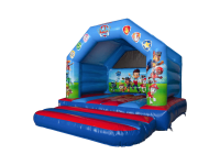 13ft X 13ft Childrens Paw Patrol Themed Bouncy Castle#