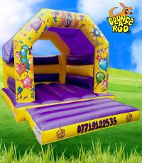 Party Castle Purple 15ftx11ft