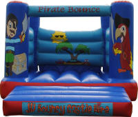 12 x 13ft Pirate Bouncy Castle