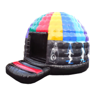 13ft x 15ft Adult/Childrens Inflatable Disco Dome Bouncy Castle#ADD SOMETHING DIFFERENT TO YOUR EVENT