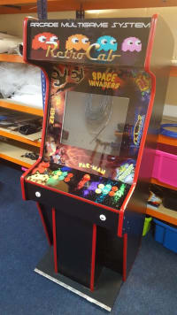 Upright Retro Arcade Game # Great for Exhibition Stands