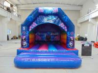 Disco bouncy castle 15 fr x12 ft rainbow theme