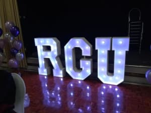 L E D Letters In Lights Photo Booth Hire In Aberdeenshire Dundee