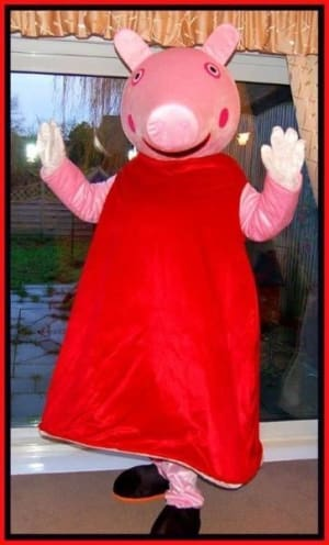 Peppa Pig Mascot Costume Bouncy Castle Hire In Dover Deal