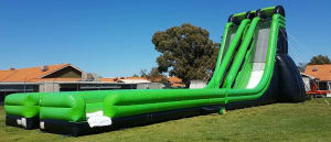 Dual Lane Edge Massive Water Slide