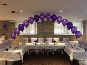 Balloon decorations in rotherham sheffield and south yorkshire wedding balloon arch top table junglespirit Choice Image