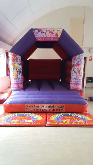 My Little Pony Theme Bouncy Castle Bouncy Castle Hire Soft Play