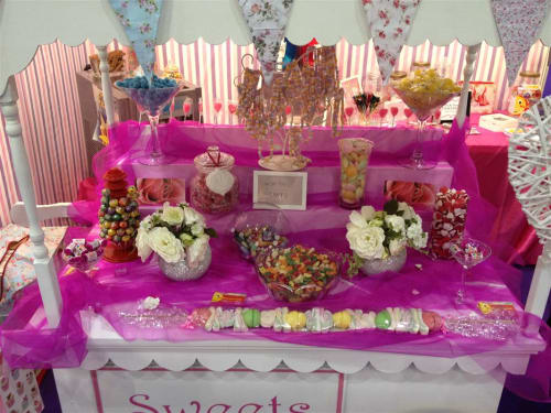 vintage sweet cart victorian candy cart bouncy castles in east