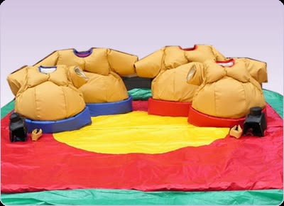 Sumo Wrestling - Bouncy Castle Hire in Portsmouth