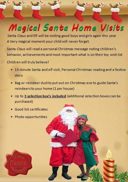 Personalised Santa & Elf Home visit - Party and Mascot hire in ...
