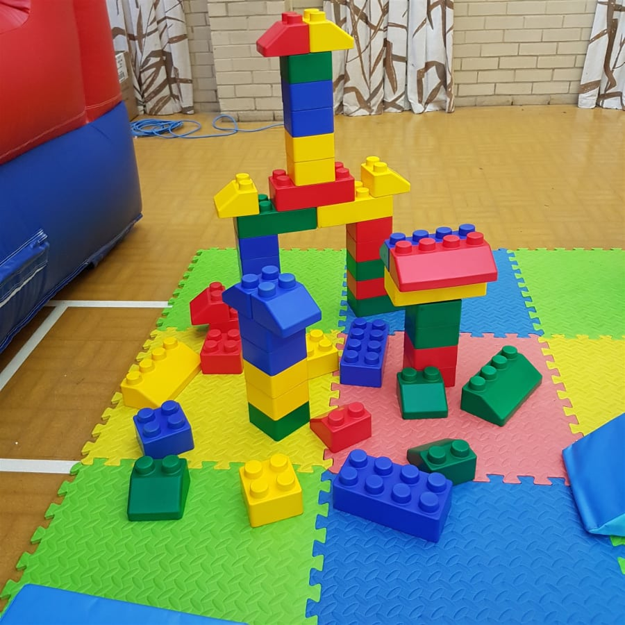 50 Giant Lego Blocks - Bouncy Castle Hire in Crowborough, Tunbridge