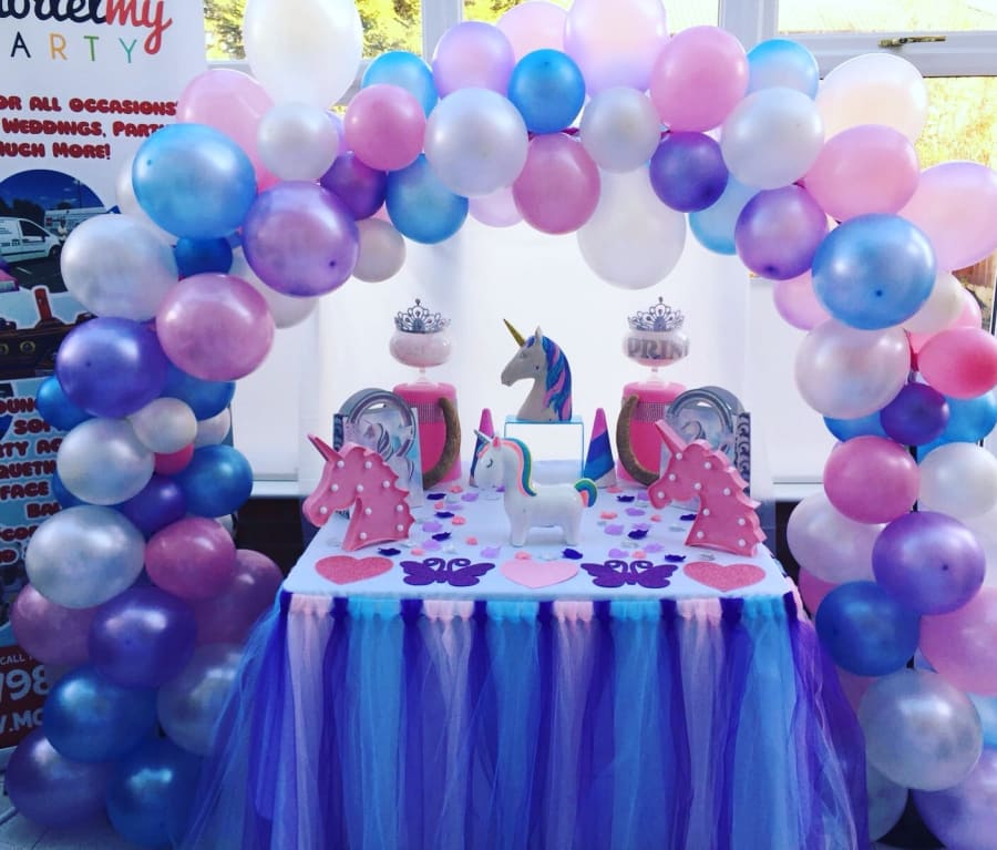 Unicorn Cake Table Display