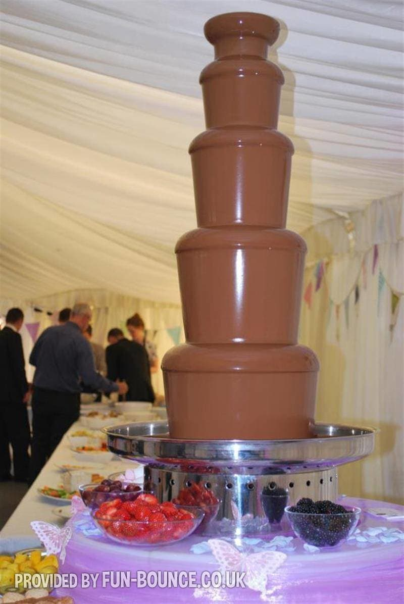 Chocolate Fountain Extra Large 5 Tier Fountain Includes Staff