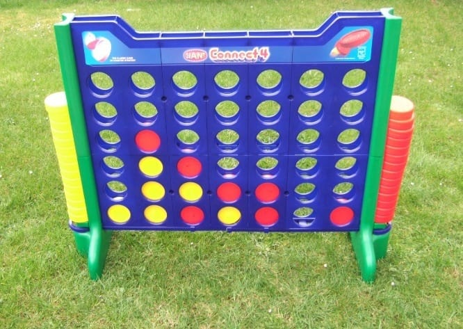 Giant Connect 4 Style Game - Bouncy Castle Hire in Luton
