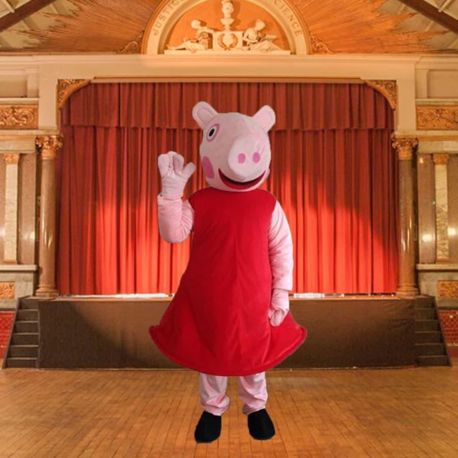 Peppa Pig Mascot