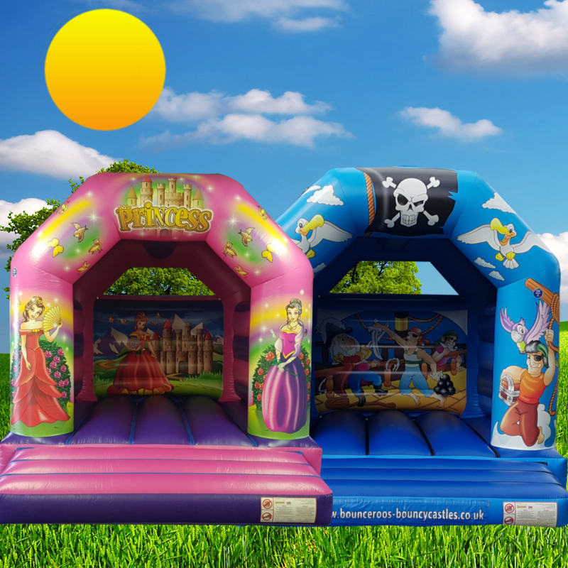 BOUNCE R US Princess and Pirate Packages - Bouncy Castle
