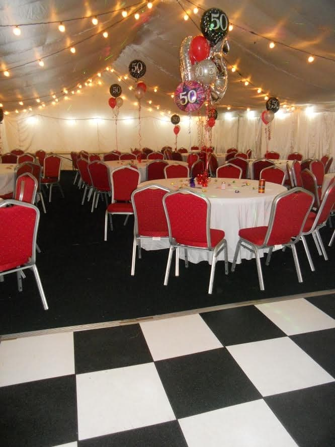 Round Table Lincoln.6ft Round Table Marquee Hire In Nottingham Derby Leicester