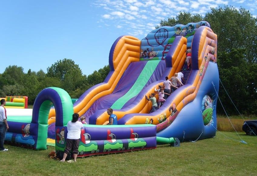 Inflatable Slide Hire | Inflatable Specialists | JM Entertainment Uk