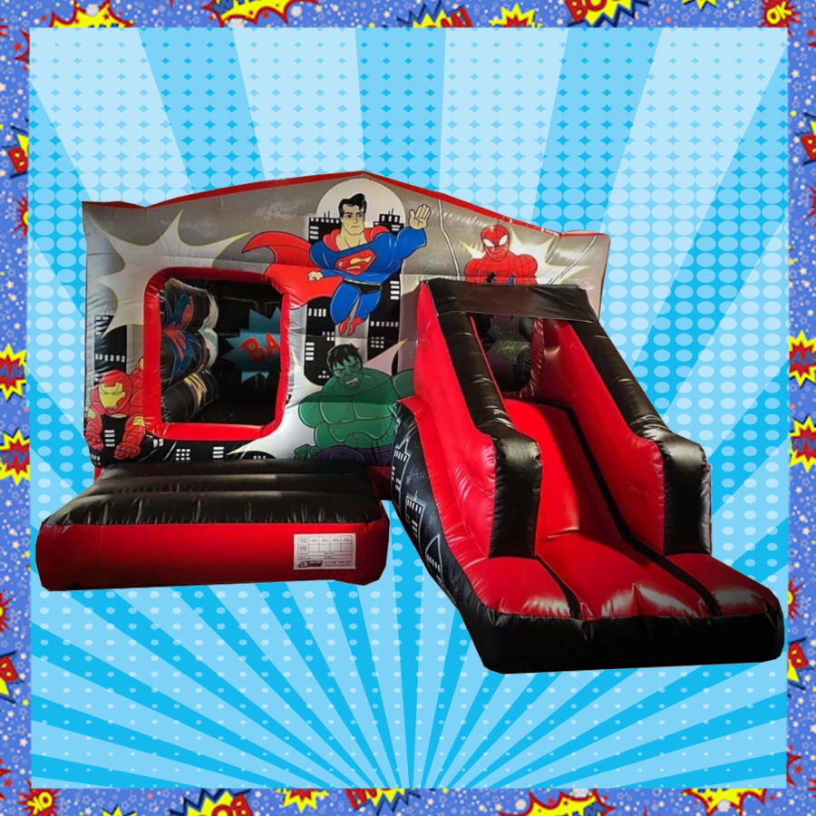 Pleasing Hero Bounce House Combi Castle Interior Design Ideas Gentotryabchikinfo
