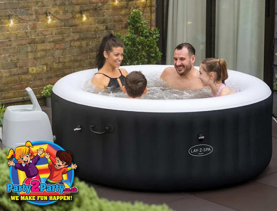 Deluxe 2 4 Person Hot Tub Hire With Gazebo Lights Bluetooth Speaker 3 Day Hire Kids Entertainer Disco Nerf Bouncy Castle Hot Tubs In Nottingham Derby Loughborough Leicester Mansfield Chesterfield