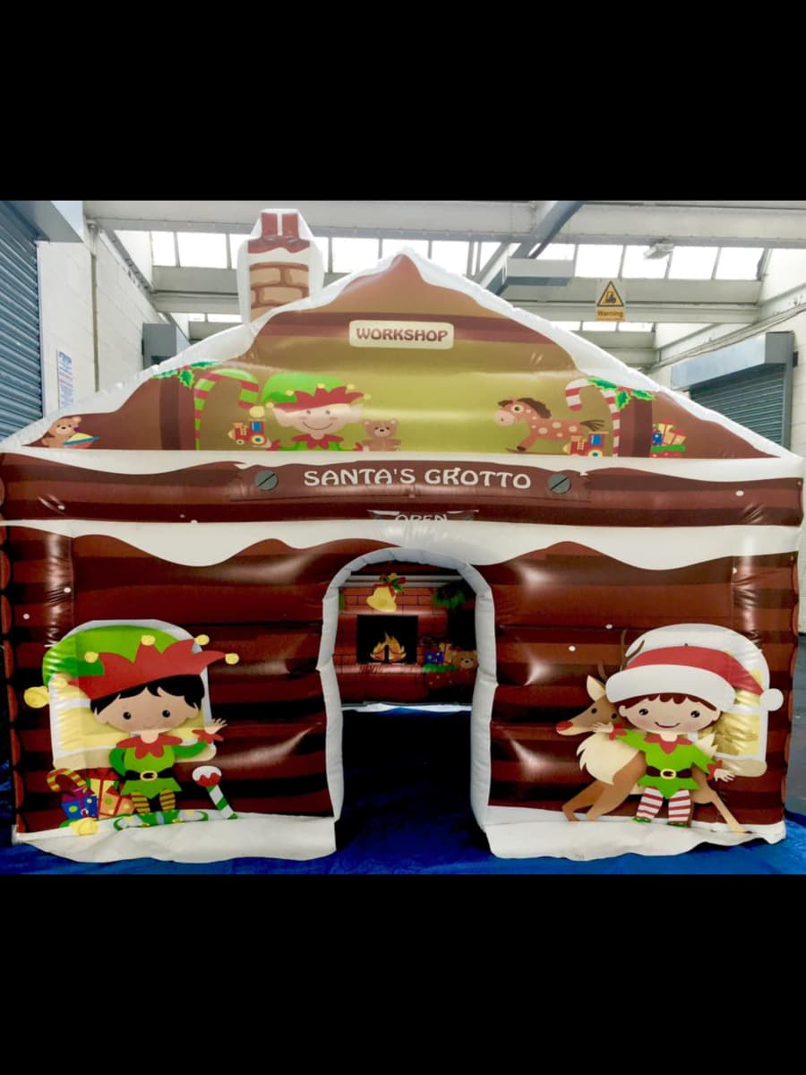 Santa grotto - Bouncy Castle & Rodeo Bull Hire in Gwent