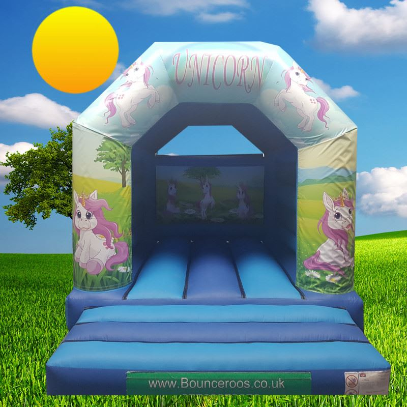 12x14 Unicorn bouncy castle - Bouncy Castle Hire Coventry and Rugby in  Coventry & Warwickshire