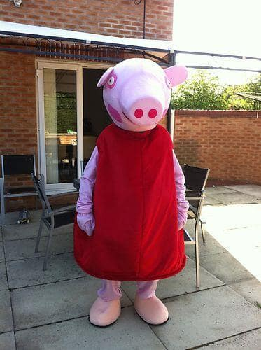 Peppa Pig Look A Like Mascot
