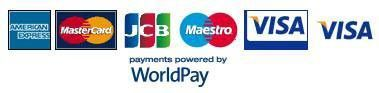 worldpay credit card logos