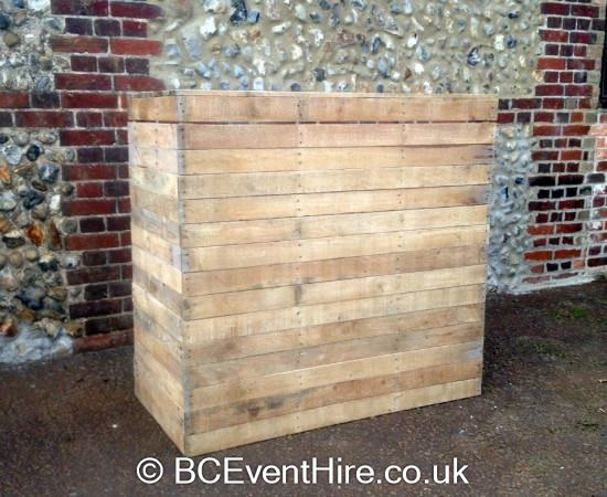Wooden Pallet Bar Bouncy Castle Hire In Coventry Birmingham