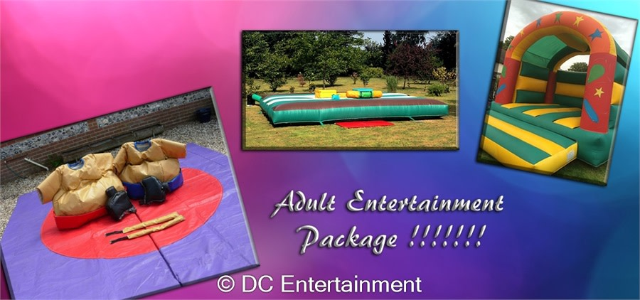 DC Superhero Girls Birthday Party Adult Entertainment Package