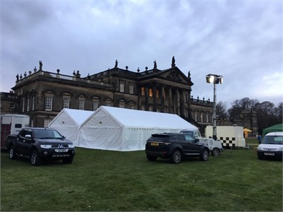 Christmas Fair At Wentworth Woodhouse Bouncy Castle Hire