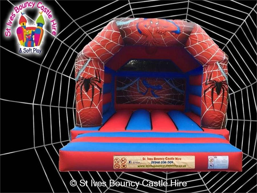 Spiderman A-Frame Bouncy Castle 16x13ft - Bouncy Castle Hire in St ...